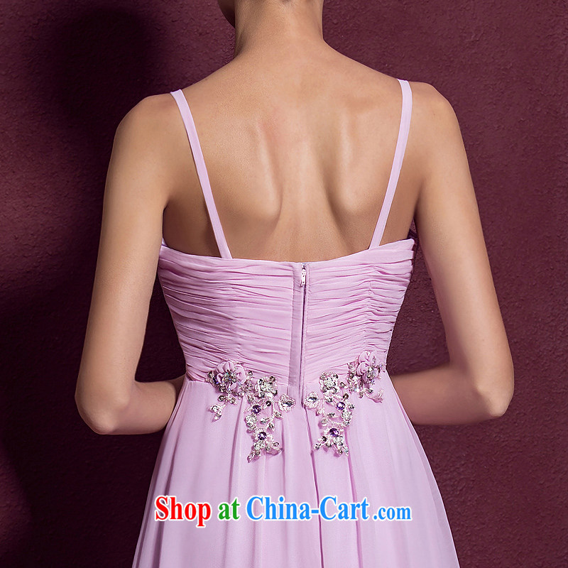 The bride's wedding dresses straps and elegant evening dress wedding toast serving long dress 886 M, the bride, and shopping on the Internet