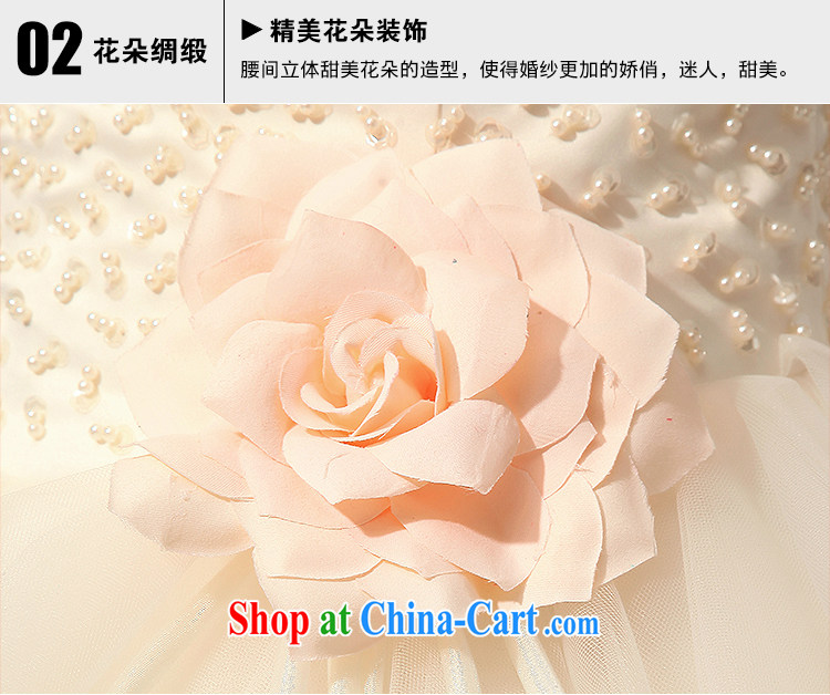 Diane M Ki wedding new spring and summer with bare chest Pearl small dress short skirt sister bridesmaid dress champagne color XXL pictures, price, brand platters! Elections are good character, the national distribution, so why buy now enjoy more preferential! Health
