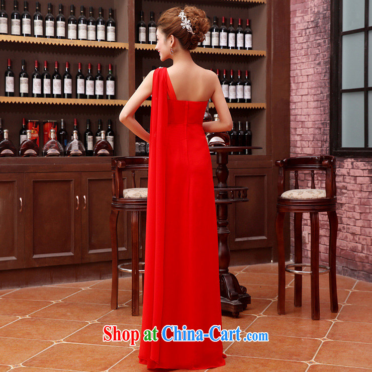 Optimize Hung-new Korean edition shoulder ribbons flash drill snow woven toast clothing dress XS 8178 red XXL pictures, price, brand platters! Elections are good character, the national distribution, so why buy now enjoy more preferential! Health