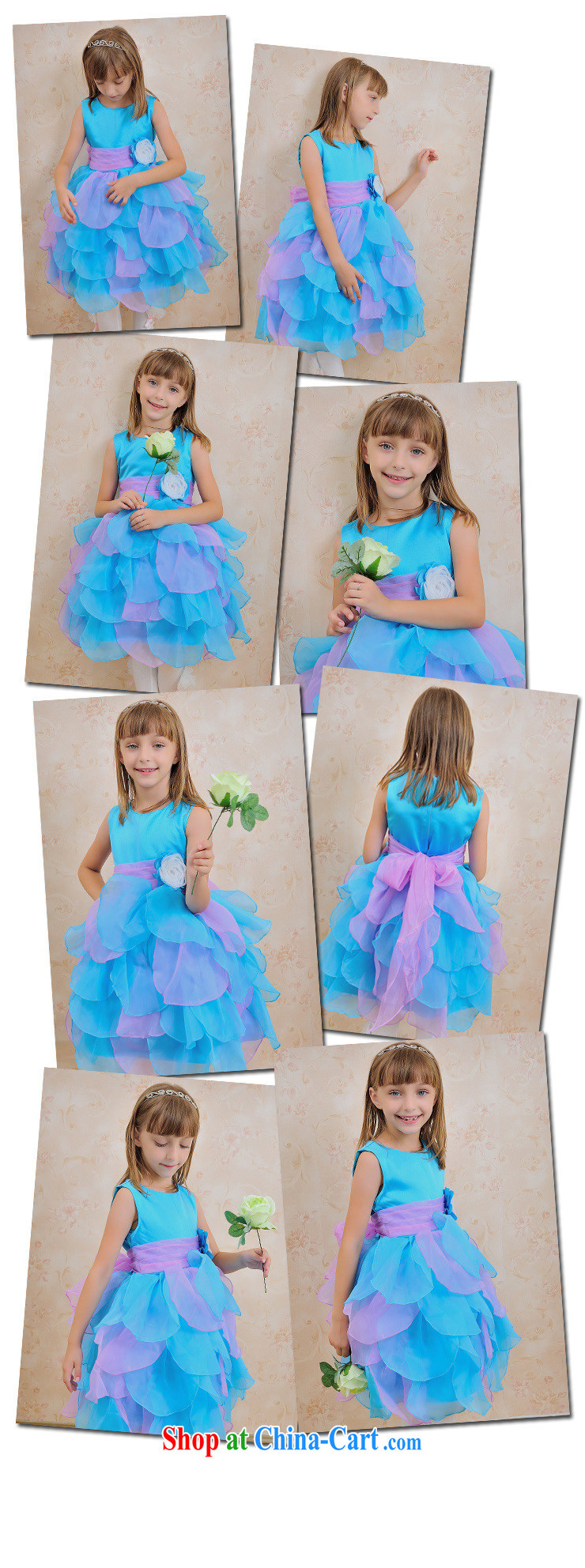 There are optimized color Kingfisher children's wear skirt Princess flower wedding dress girls' performances performances skirt suits skirts children shaggy dress evening dress dress XS 1055 sea blue 10, pictures, price, brand platters! Elections are good character, the national distribution, so why buy now enjoy more preferential! Health