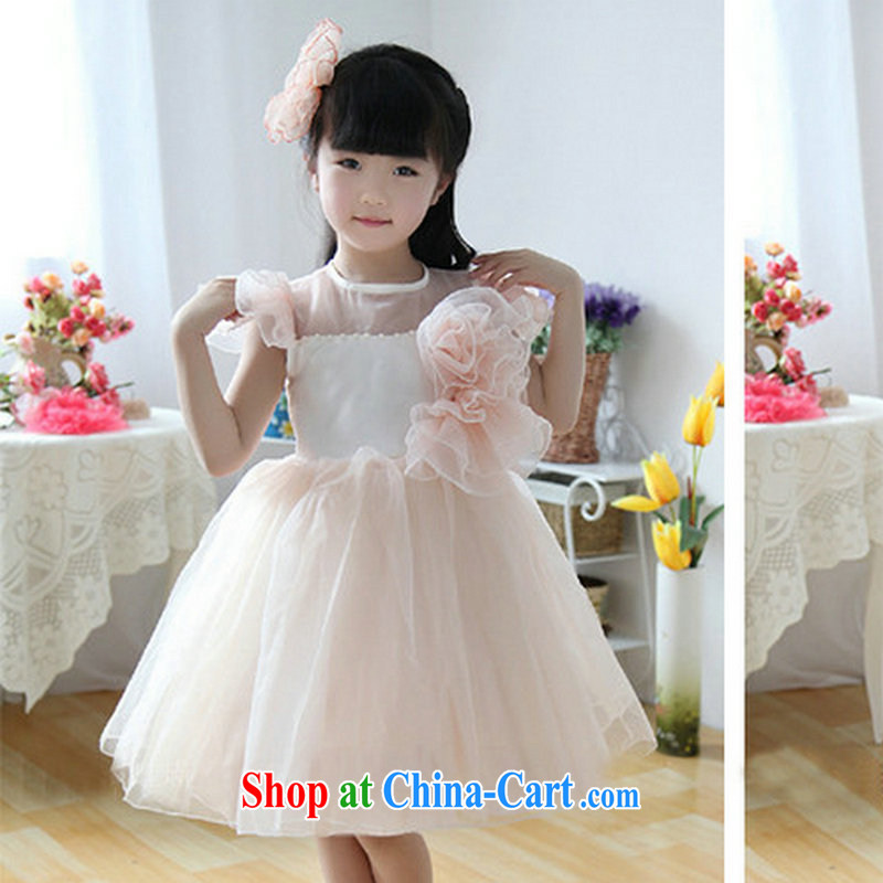 It is also optimized for performance as children's wear girls flower wedding dress dresses shaggy skirts children dress Princess dress XS 1057 meat color 6