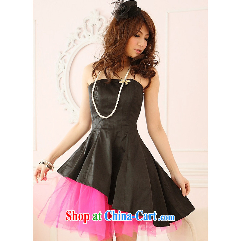 Shallow end _QIAN MO _ wholesale agent, Japan, and South Korea does not rule layers shaggy Princess dress dresses small dress 2209 black are code