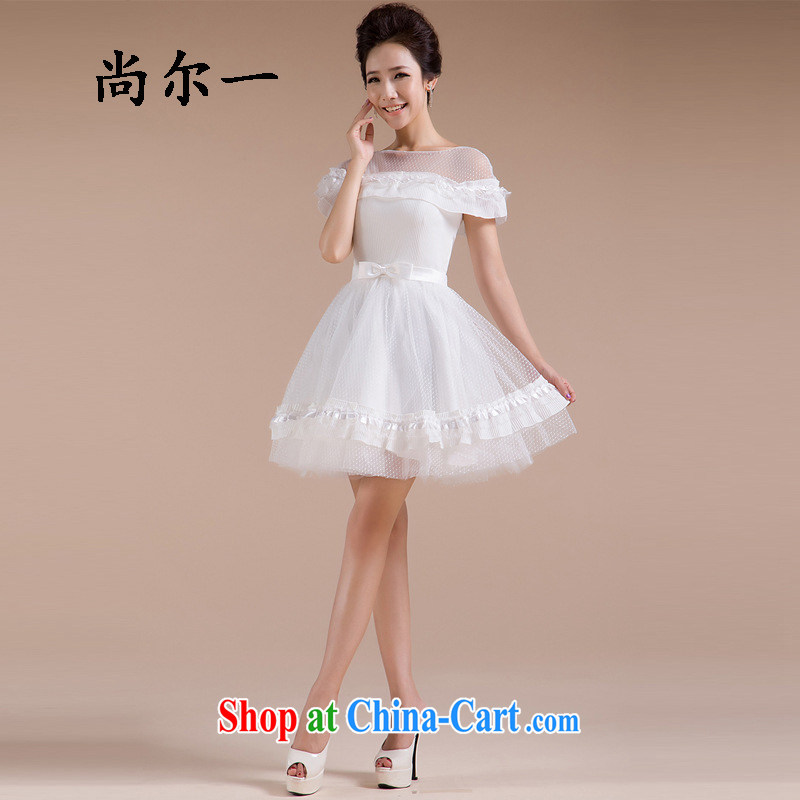It's a elegant sweet Princess sexy wedding dresses shaggy dress lace wedding Bridal Fashion home yarn 2014 new XS 589 white L