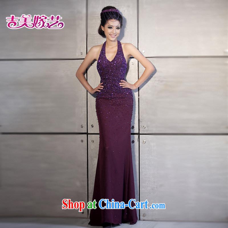 wedding dresses, marry us performing arts 2015 new mount also Korean Beauty fall LS 540 bridal dresses purple S