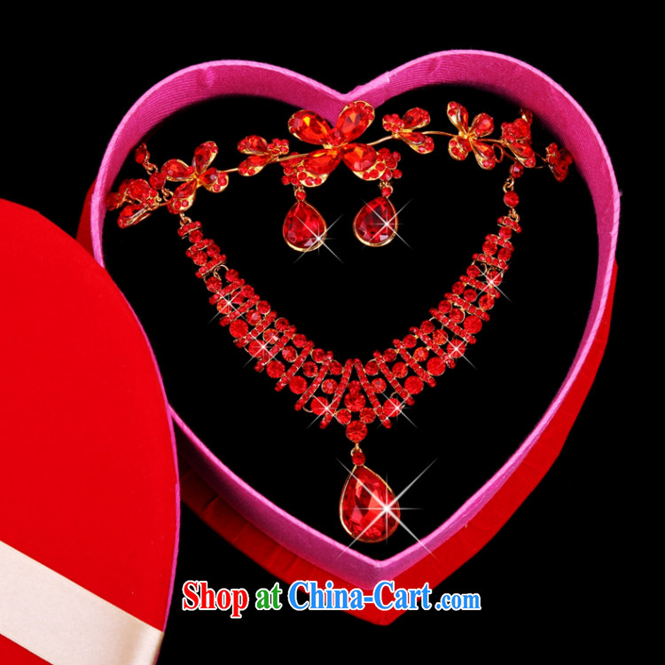 Yong-yan and new red wood drill set Crown necklace earrings gift boxed red pictures, price, brand platters! Elections are good character, the national distribution, so why buy now enjoy more preferential! Health