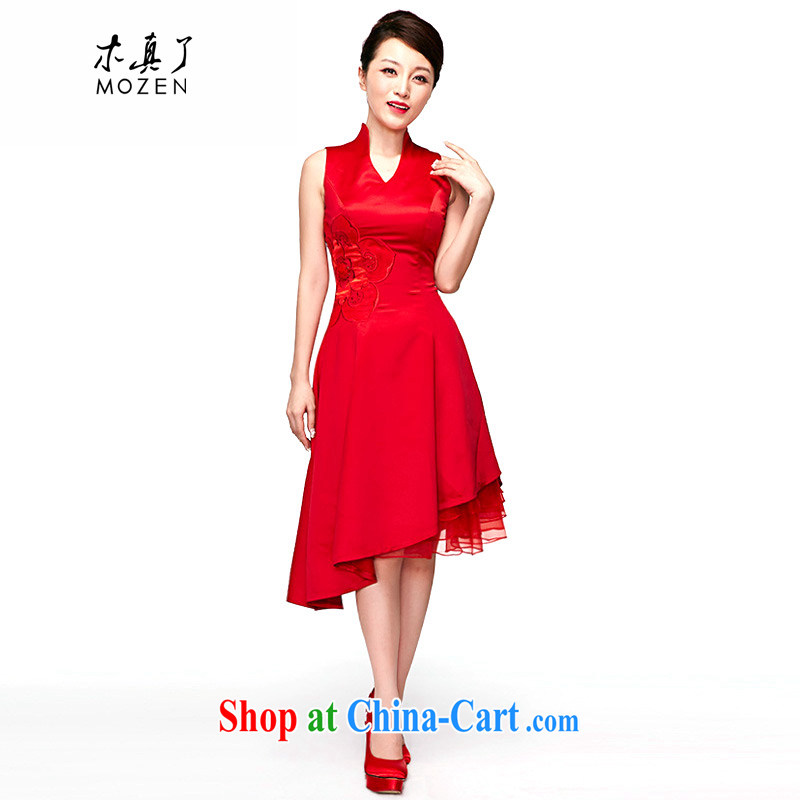 Wood is really the 2015 spring and summer new bridal gown bridal wedding dress red dresses 50,542 05 red S