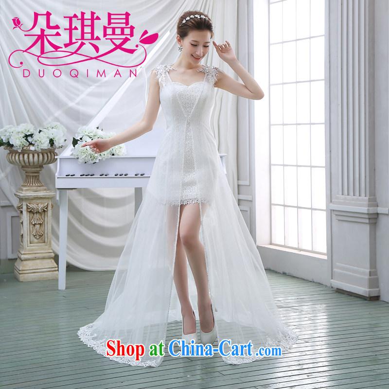 Flower Angel Cayman wedding dresses fairy van 2014 New Long marriages served toast dress 2 piece wedding XXL