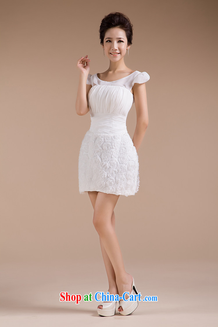 Rain is still Yi wedding 2015 bride toast clothing new white short dress package and sexy bridesmaid dresses small LF 85 white tailored pictures, price, brand platters! Elections are good character, the national distribution, so why buy now enjoy more preferential! Health