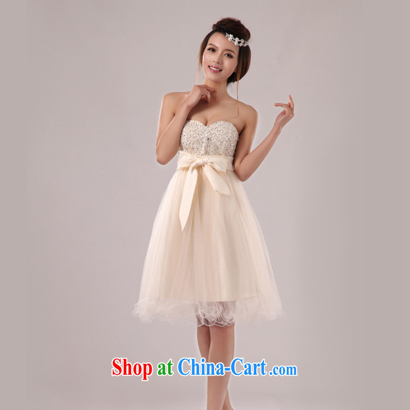Baby bridal 2014 wedding dresses bare chest bridesmaid dresses small ...