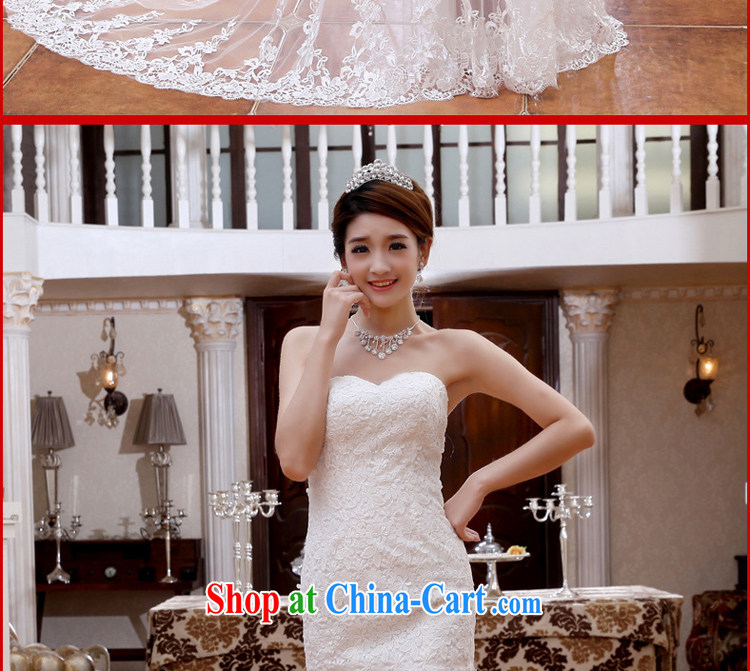 Early definition wedding dresses 2015 spring and summer new sexy lace fluoroscopy small tail Korean video thin sweet bridal white XXL pictures, price, brand platters! Elections are good character, the national distribution, so why buy now enjoy more preferential! Health