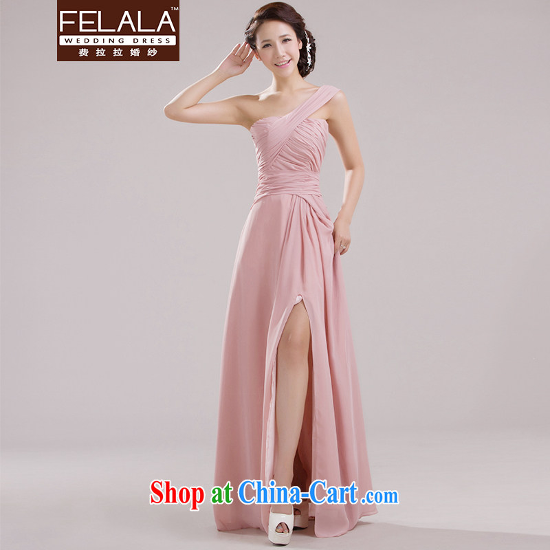 Ferrara pink new SISTER dress the wedding bridesmaid dress short bridesmaid dress bridesmaid the code dress E Long XL Suzhou shipping
