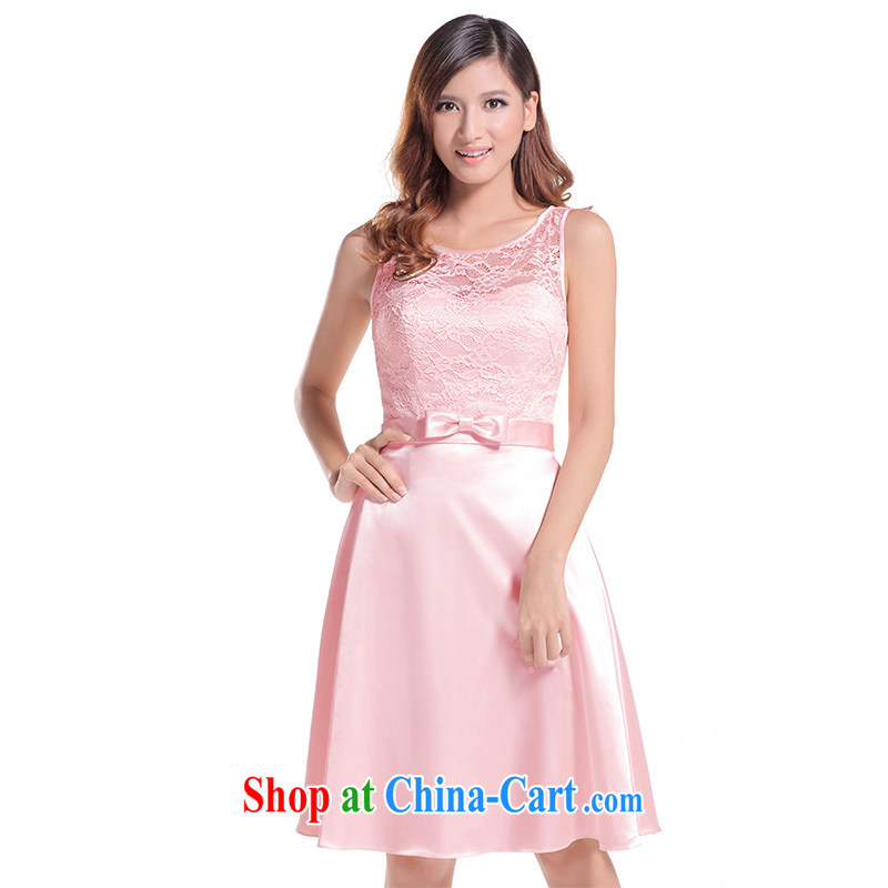 2015 new bridesmaid dress short, bride's sister's wedding dress skirt bridesmaid serving small dress female multi-color optional L 639 multi-colored contact Customer Service Note 173 - S