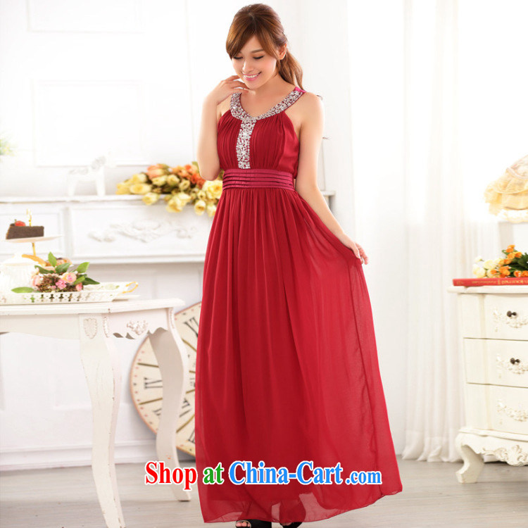 An Philippines and the United States and Europe snow high woven staple Ju-won for high waist and chest shoulder thick mm large yards version Toastmaster of the festive bridal evening dress the hotel hospitality small gift red XXXL pictures, price, brand platters! Elections are good character, the national distribution, so why buy now enjoy more preferential! Health