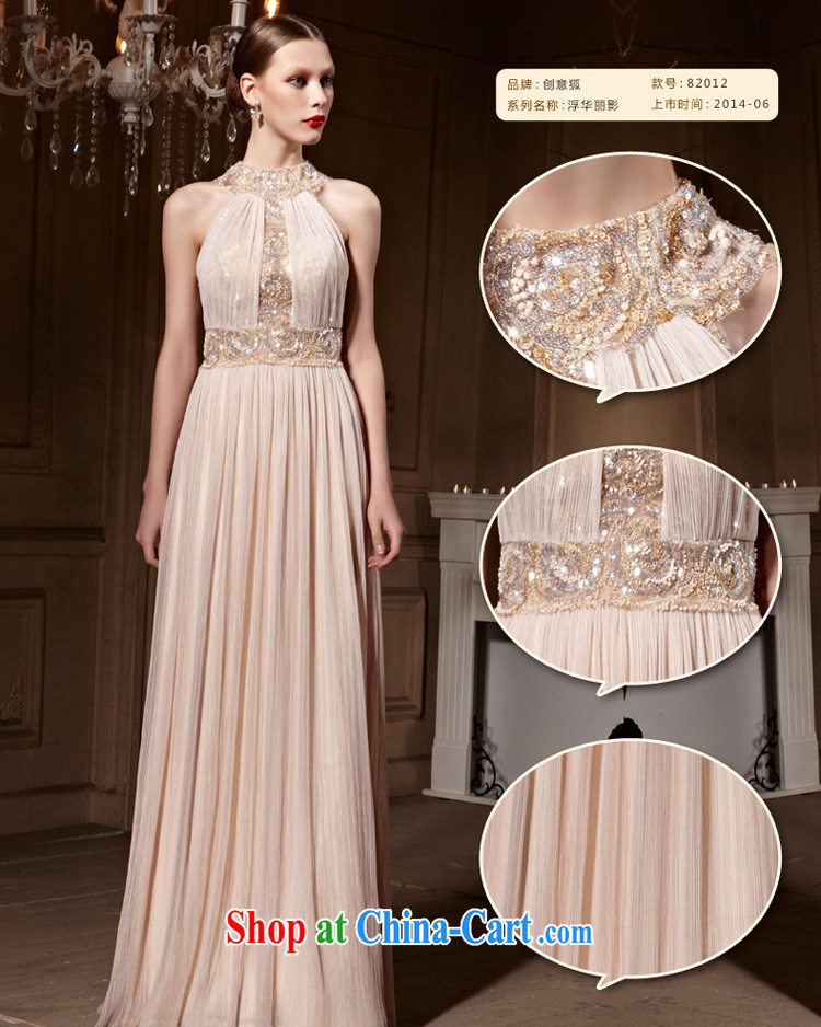 Creative Fox Evening Dress elegant and noble is also dress banquet long, cultivating the dress evening dress uniform toast party dress style skirts 82,012 picture color XXL pictures, price, brand platters! Elections are good character, the national distribution, so why buy now enjoy more preferential! Health