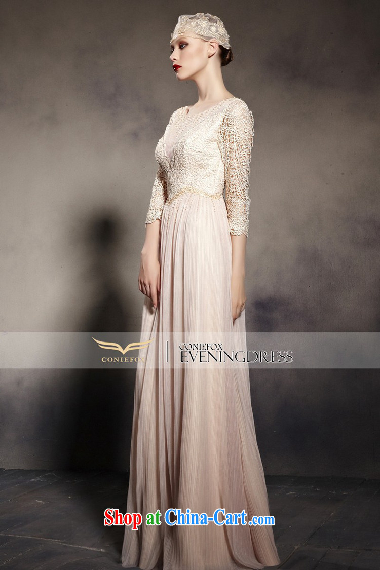 Creative Fox Evening Dress new lace retro dress shoulders fall annual dress the dress up beauty, 7 cuff long skirt 81,960 pictures is XXL pictures, price, brand platters! Elections are good character, the national distribution, so why buy now enjoy more preferential! Health
