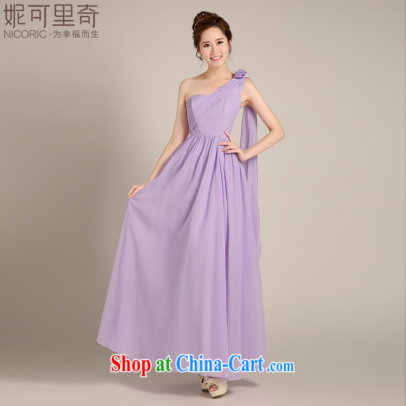 Kidman, bridesmaid dresses summer 2015 new Korean purple long dresses, bridesmaid's sister dress bridesmaid serving women Evening Dress dress long annual B chair, advanced customization 15 day shipping
