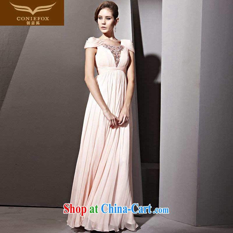 Creative Fox Tuxedo style bubble cuff design evening dress bridal gown pink beach dress bridesmaid dress long wedding dress welcome 81,125 pink XXL