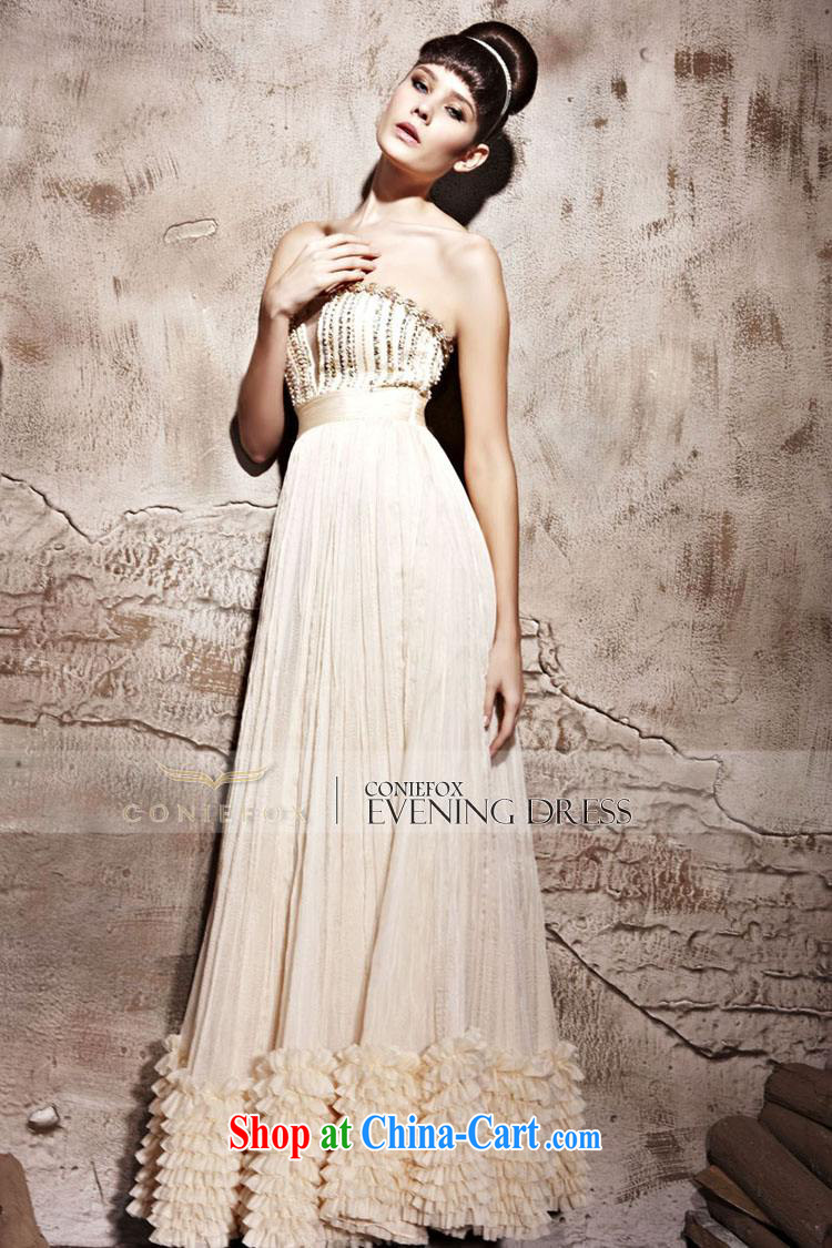 Creative Fox dress elegant long erase chest dress long skirt Korean style standard features evening dress annual concert hosted 81,158 dresses picture color XXL pictures, price, brand platters! Elections are good character, the national distribution, so why buy now enjoy more preferential! Health