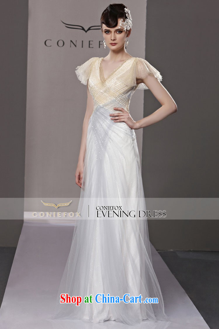 Creative Fox Evening Dress elegant softness long banquet dress the annual dress dress upscale Red Carpet dresses dresses show long skirt 81,220 picture color XXL pictures, price, brand platters! Elections are good character, the national distribution, so why buy now enjoy more preferential! Health