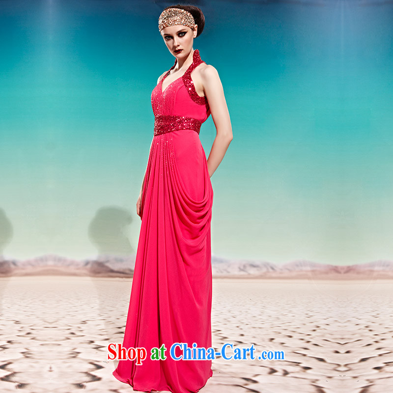 Creative Fox Evening Dress long temperament toast clothing bridal evening dress dresses Red classic dress stylish banquet is also dress 58,006 picture color XXL, creative Fox (coniefox), shopping on the Internet