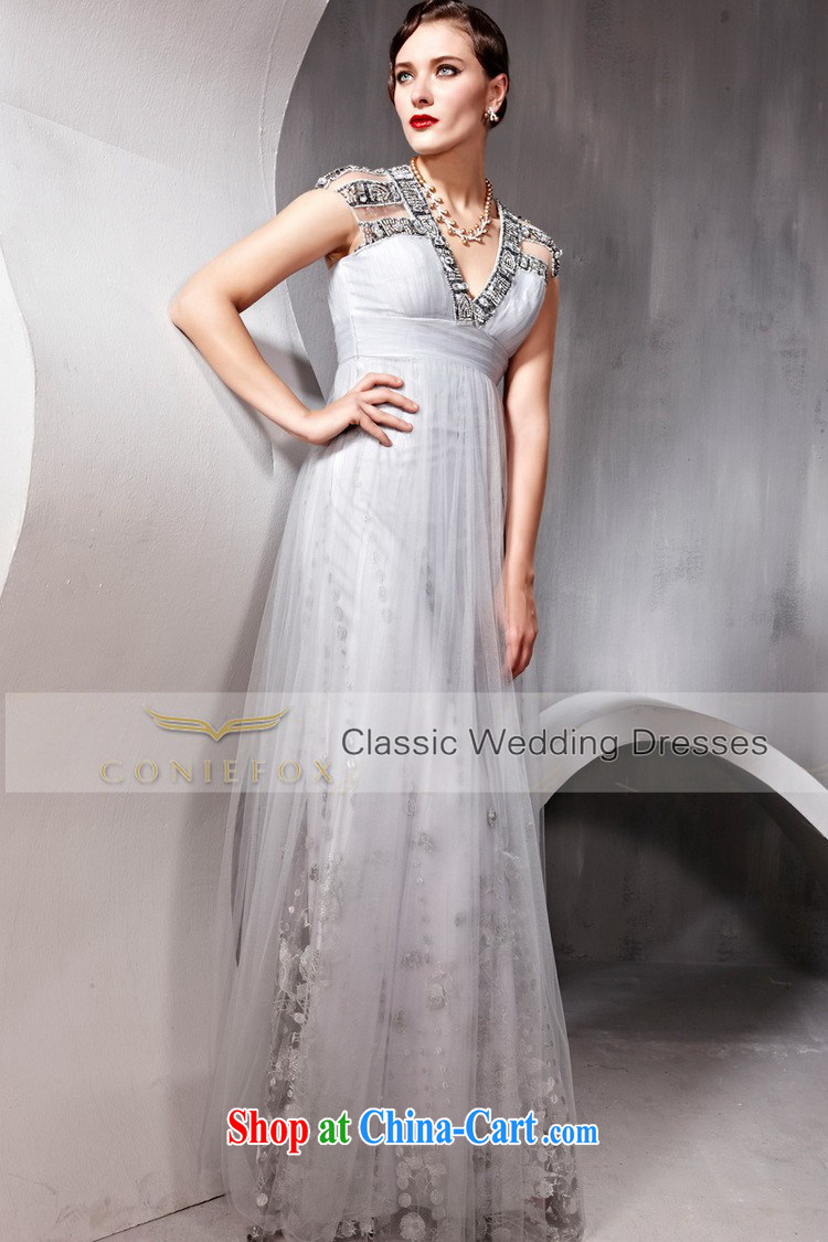 Creative Fox dress V collar package shoulder high waist, wedding dresses banquet toast Service Bridal wedding dress video slim dresses, 80,952 white XXL pictures, price, brand platters! Elections are good character, the national distribution, so why buy now enjoy more preferential! Health