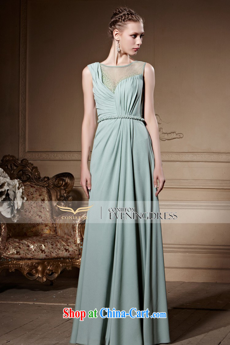 Creative Fox high-end custom Evening Dress new French style dress ...