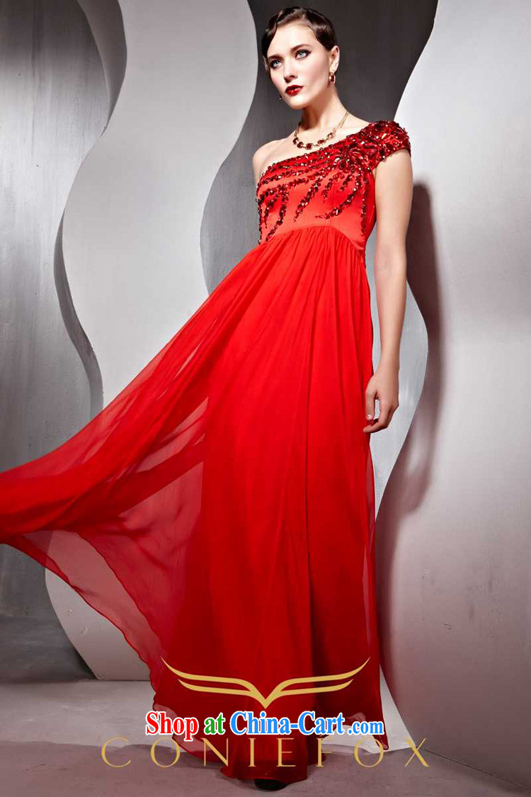 Creative Fox Evening Dress 2015 New Red bridal wedding dress banquet toast dress uniform dress, shoulder-length, wedding dresses 80,652 red XXL pictures, price, brand platters! Elections are good character, the national distribution, so why buy now enjoy more preferential! Health