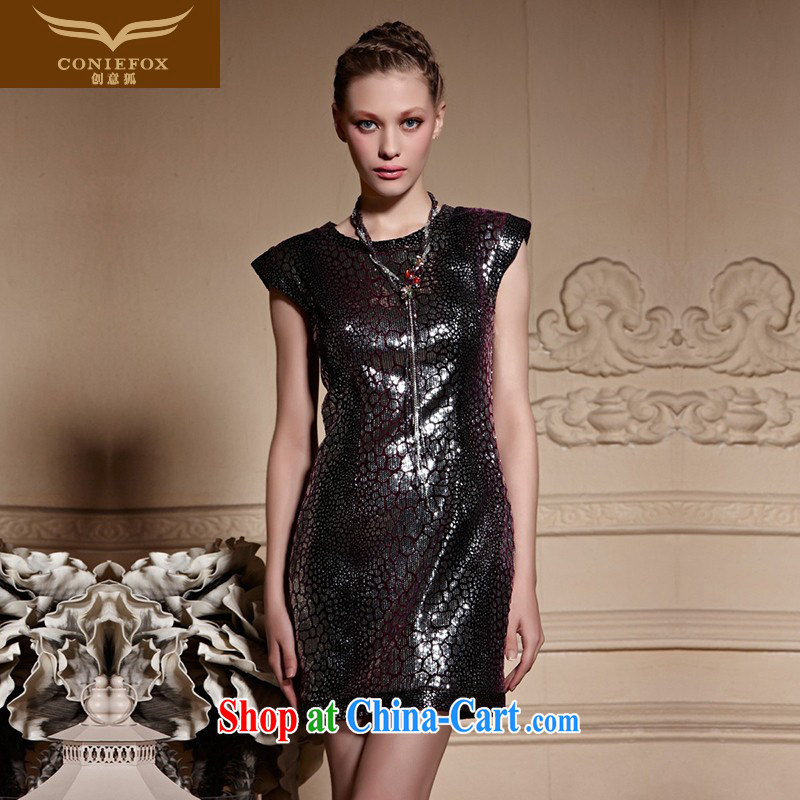 Creative Fox high-end custom Evening Dress 2015 New Name-yuan, short dress banquet toast clothing beauty dresses 82,025 picture color tailored