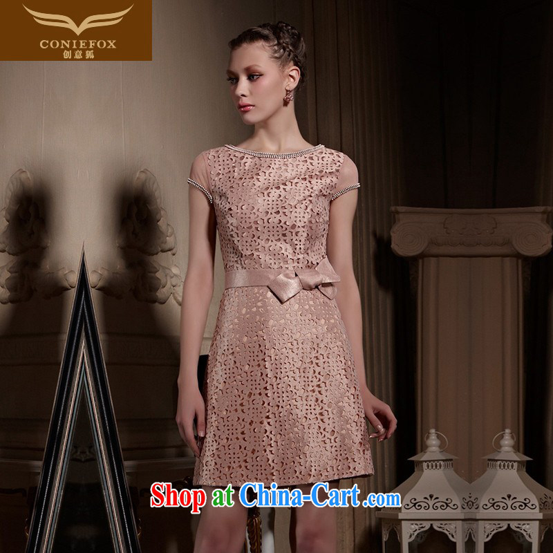 Creative Fox high-end custom dress 2015 new courage empty short dress for wedding banquet bridesmaid dress dresses 82,030 picture color tailored