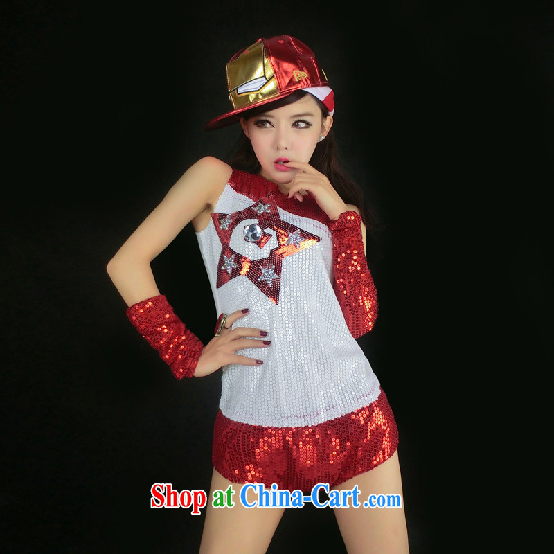 Dance to hip hop new night DS 아걸큽 costumes cheerleading-show dancer, accompanied by stage costumes _8382 _8382