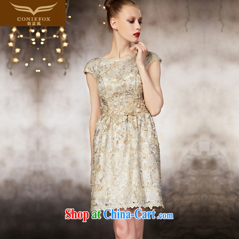 Creative Fox dress advanced custom dress short dress beauty dress bridesmaid dresses small banquet toast. Moderator dress 82,118 picture color tailored