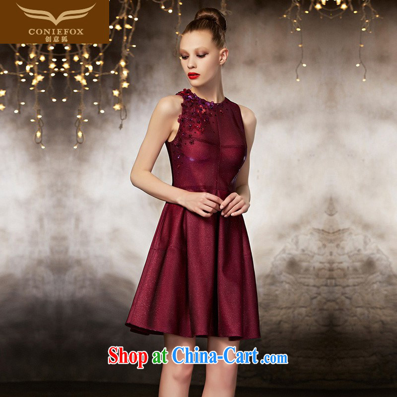 Creative Fox dress high-end custom wedding dresses 2015 new short red beauty, evening dress bridesmaid dress short skirt and sisters serving 82,183 picture color tailored