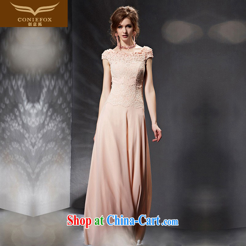Creative Fox Evening Dress 2015 new pink bridal dresses beauty long bridesmaid dress banquet toast service annual meeting presided over 30,651 dresses picture color XXL