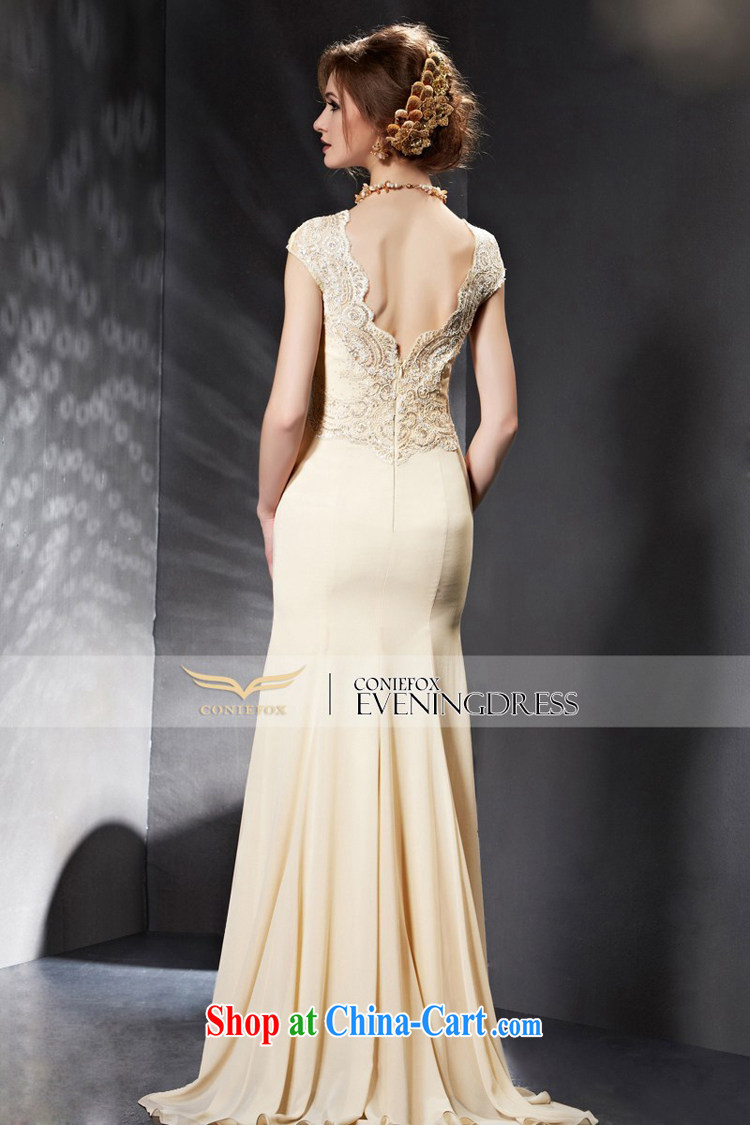 Creative Fox Evening Dress 2015 new wedding dresses long, cultivating bridesmaid dress bride wedding toast service banquet Evening Dress dress 30,659 picture color XXL pictures, price, brand platters! Elections are good character, the national distribution, so why buy now enjoy more preferential! Health