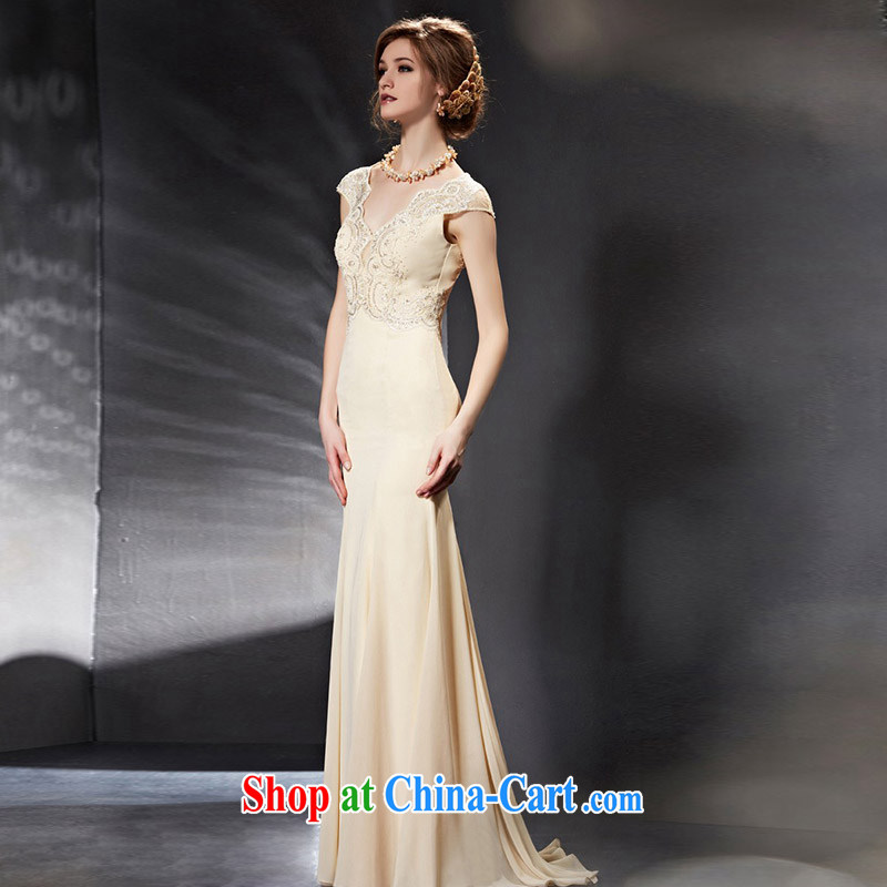 Creative Fox Evening Dress 2015 new wedding dresses long, cultivating bridesmaid dress bride wedding toast service banquet Evening Dress dress 30,659 picture color XXL, creative Fox (coniefox), online shopping