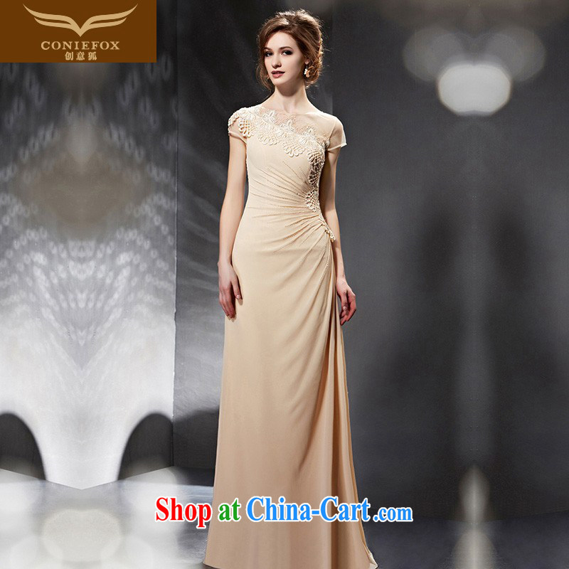 Creative Fox Evening Dress 2015 New Beauty long bridesmaid dress dress wedding dresses bridal toast service banquet Evening Dress dress dress 30,681 picture color XXL
