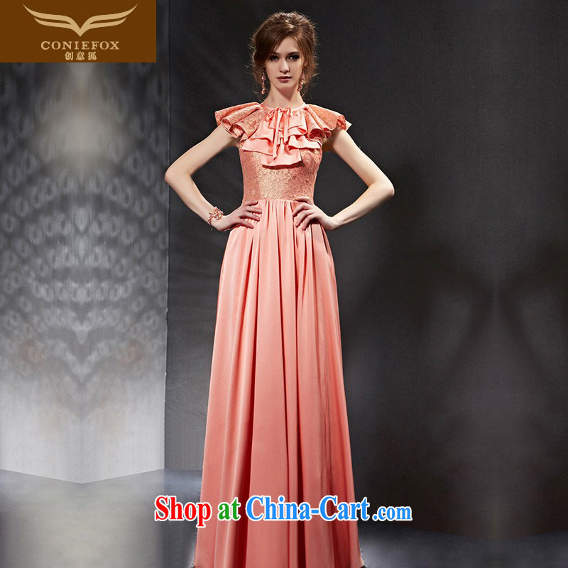 Creative Fox Evening Dress 2015 new bridal wedding dresses bridesmaid dress beauty long evening dress show dress long skirt 30,698 picture color XXL