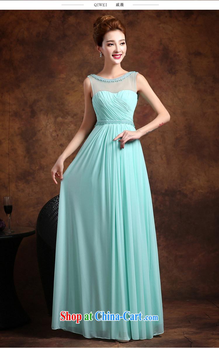 Qi wei summer 2015 new stylish double-shoulder bridesmaid bridal ...