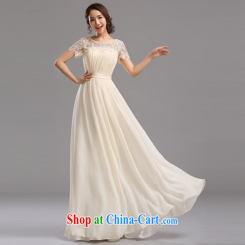 Jie MIA bridal Evening Dress 2015 new toast clothing bridesmaid dress bridesmaid mission Small dress dress sister dress long long L