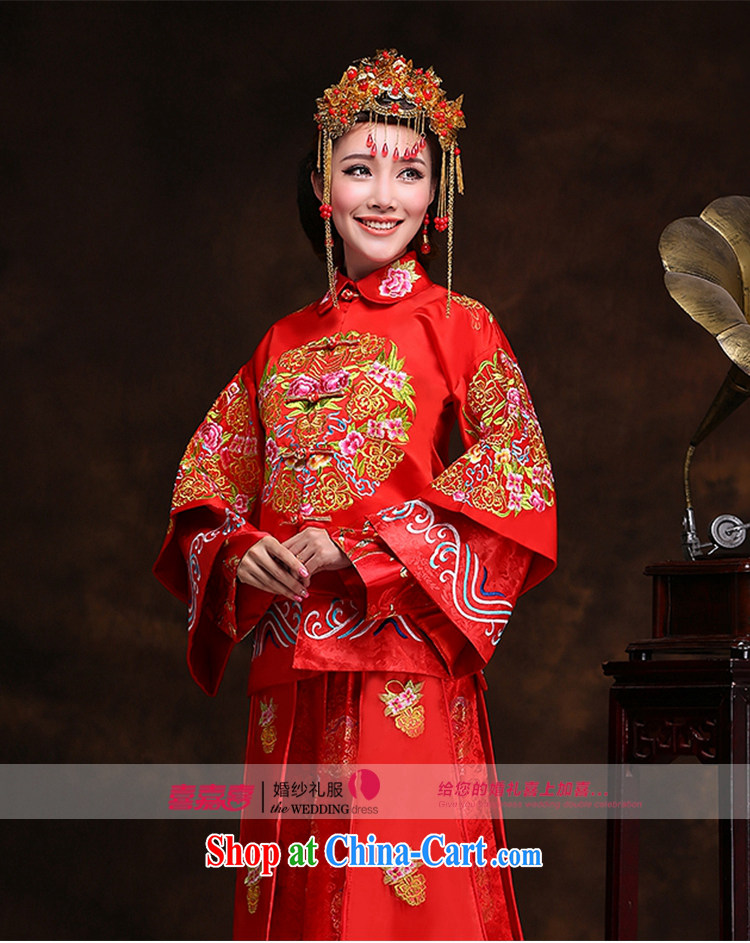 Hi Ka-hi new Chinese woman winter bridal dresses show groups serving classic wedding toast serving Phoenix XH use 99 Sau kimono XXL pictures, price, brand platters! Elections are good character, the national distribution, so why buy now enjoy more preferential! Health