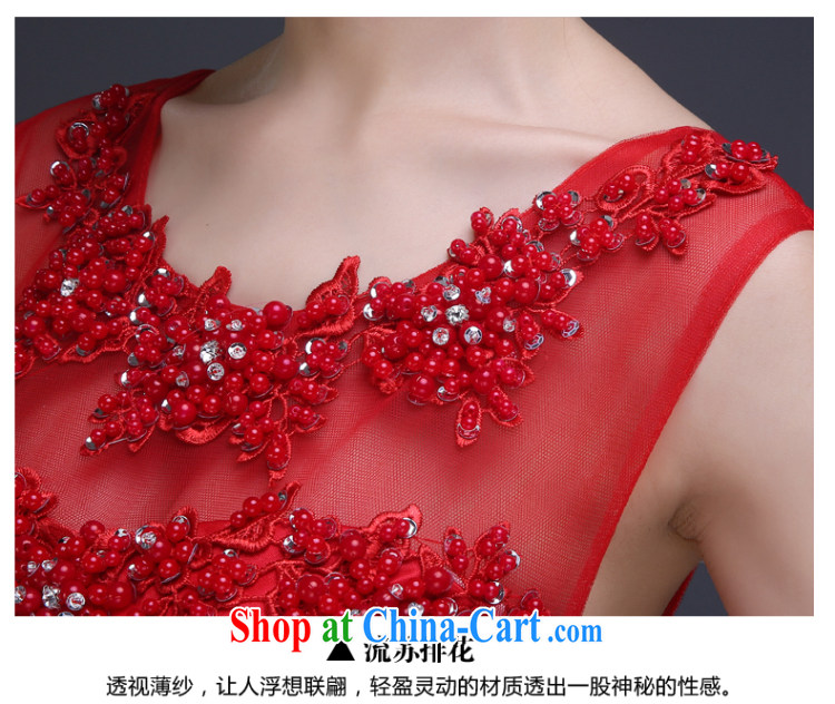 Ting Beverly toast Service Bridal Fashion 2015 spring new dual-shoulder dress red bridesmaid dress long cultivating female Red XL pictures, price, brand platters! Elections are good character, the national distribution, so why buy now enjoy more preferential! Health