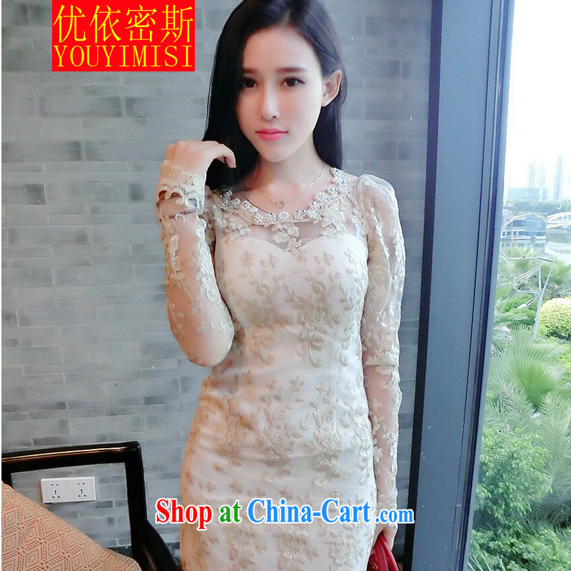 optimization in the 2014 sense of my store Lace Embroidery the pearl Openwork dress dresses picture color code