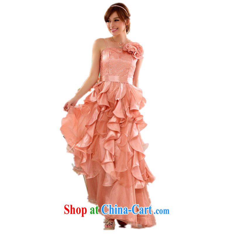 The package mail and ventricular hypertrophy, annual meeting chair dresses show dresses GALLUS DRESS long evening dress wedding bridesmaid dress mm thick party dress pink are Code about 90 - 120 jack