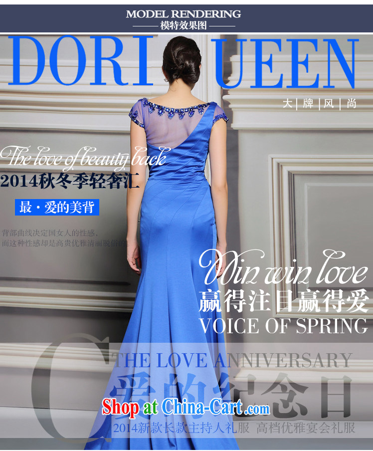 More than Li Qi long-tail Europe Evening Dress blue model model show car models at Merlion dress picture color XXL pictures, price, brand platters! Elections are good character, the national distribution, so why buy now enjoy more preferential! Health