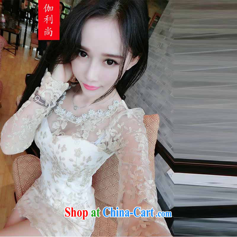 Yoga, there is 2014 autumn and winter bow-tie language empty wrapped chest skirt staple Pearl inserts drill night sexy dress dress dress 8679 picture color M