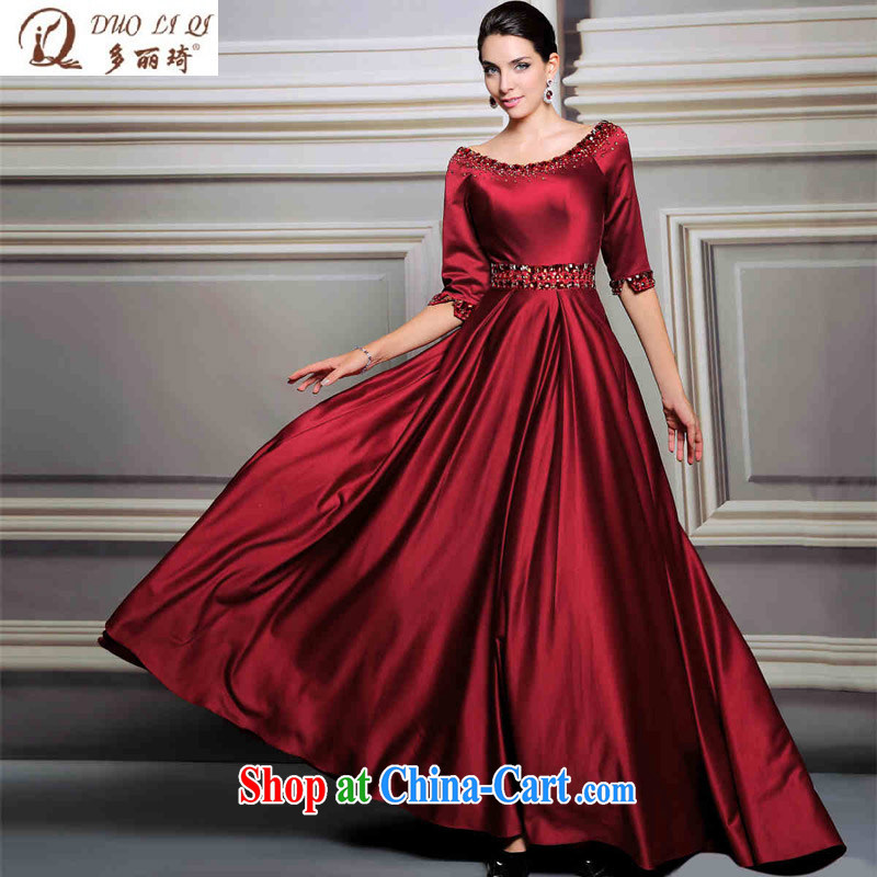 More LAI Ki Europe dress cuff in late replacing the door bows dress wedding dress picture color XXL