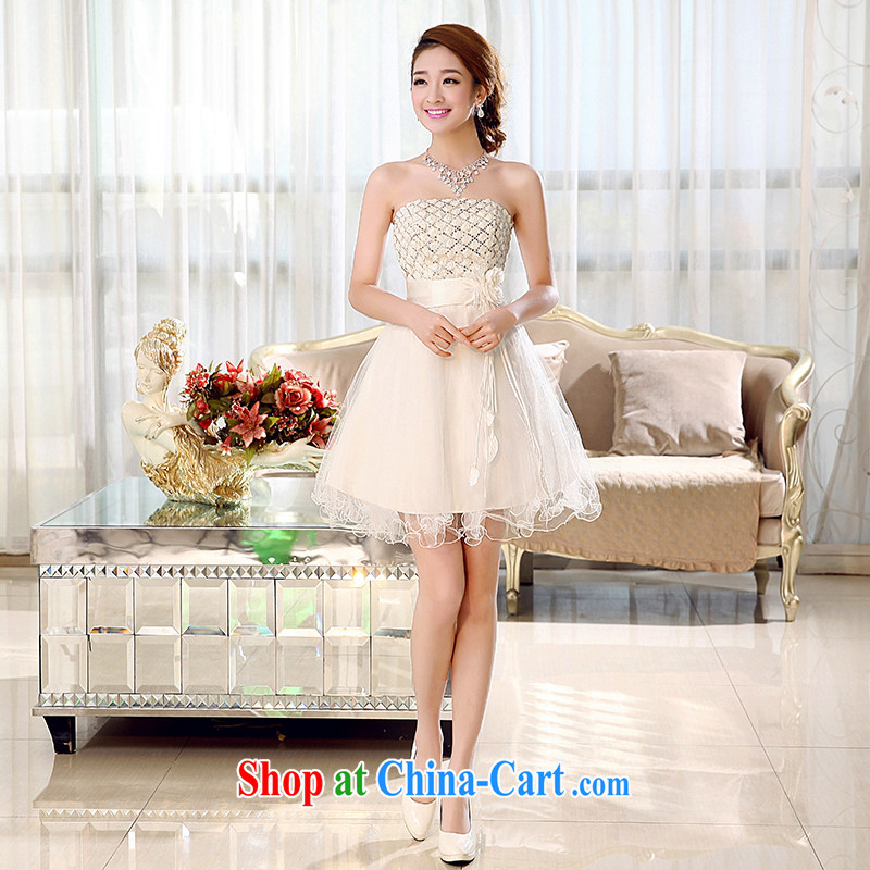 Hi Ka-Hee-won Princess bridal flowers erase chest wedding dresses bridesmaid clothing new 2015 spring X 003 white XL