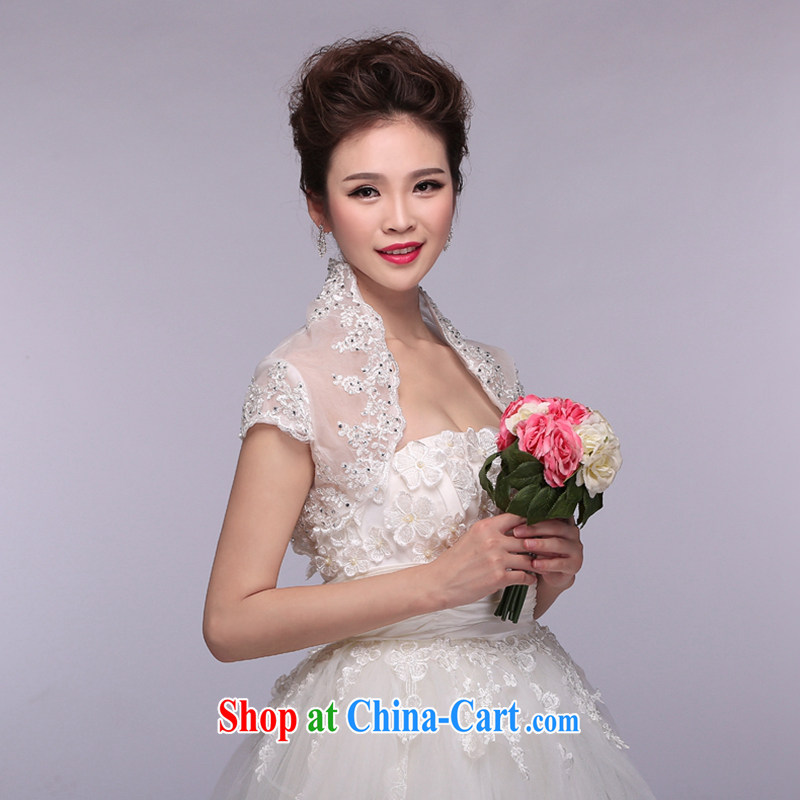Hi Ka-hi 2014 new white bridal shawl small, for wood drilling embroidery lace thin NJ 04 white are code