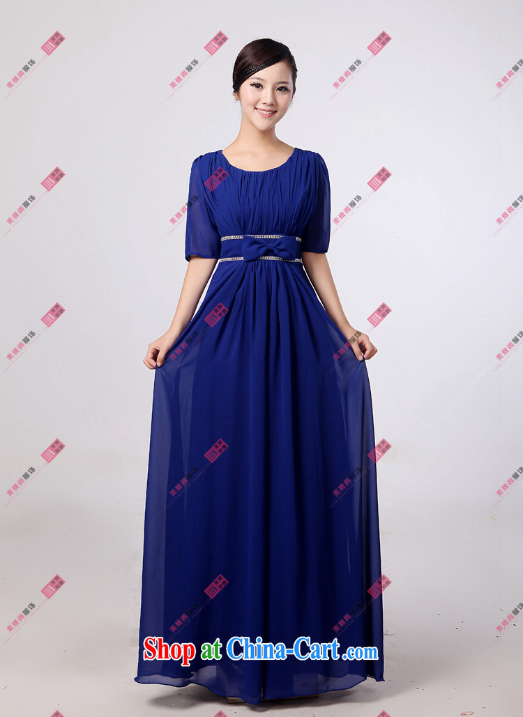 Her spirit low price chorus serving blue chorus clothing female long skirt new paragraph in Ms. cuff choir uniforms dress XXXXL pictures, price, brand platters! Elections are good character, the national distribution, so why buy now enjoy more preferential! Health