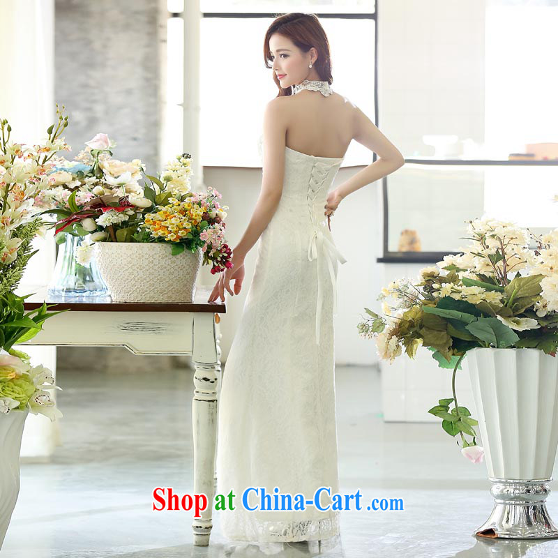 Caesar 174 wedding dresses new 2015 red long bridal wedding dress girl toast serving bridesmaid winter clothing is also white XL, TRIUMPHANTKS, shopping on the Internet